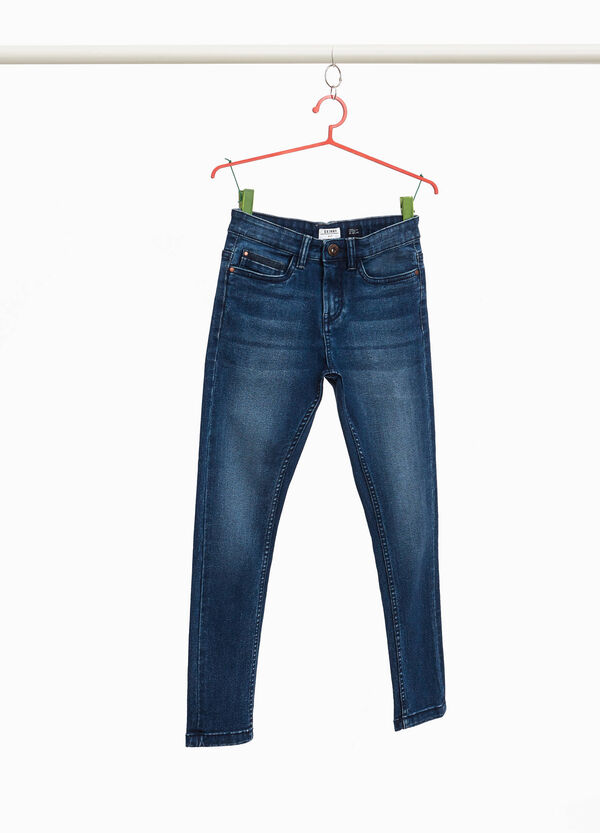 Stretch-Jeans Skinny Fit  Whiskering