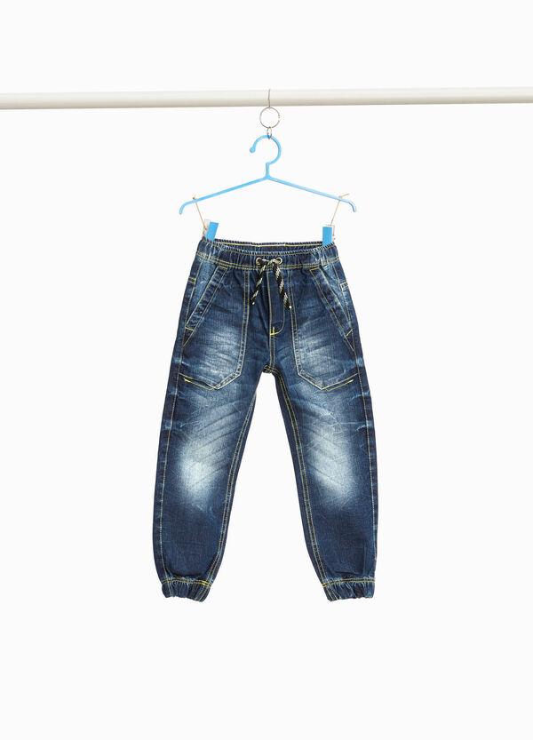 Jeans Jogger Fit Used-Effekt