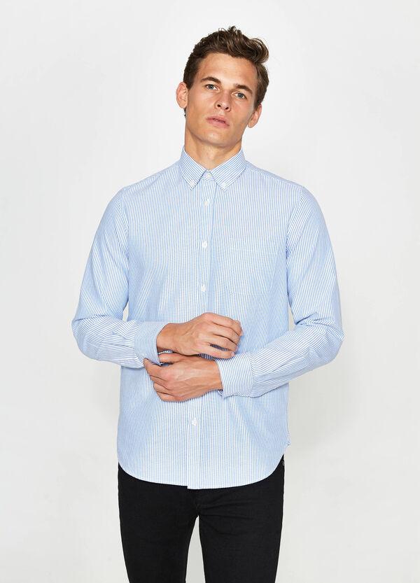 Lässiges Hemd Slim Fit mit Streifen | OVS
