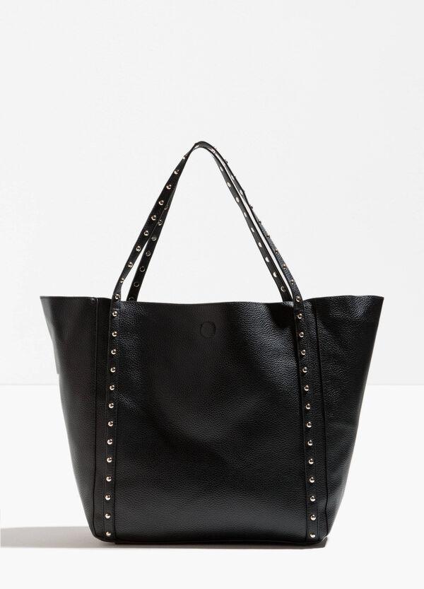 Shopping Bag Hammerschlag-Effekt und Nieten | OVS