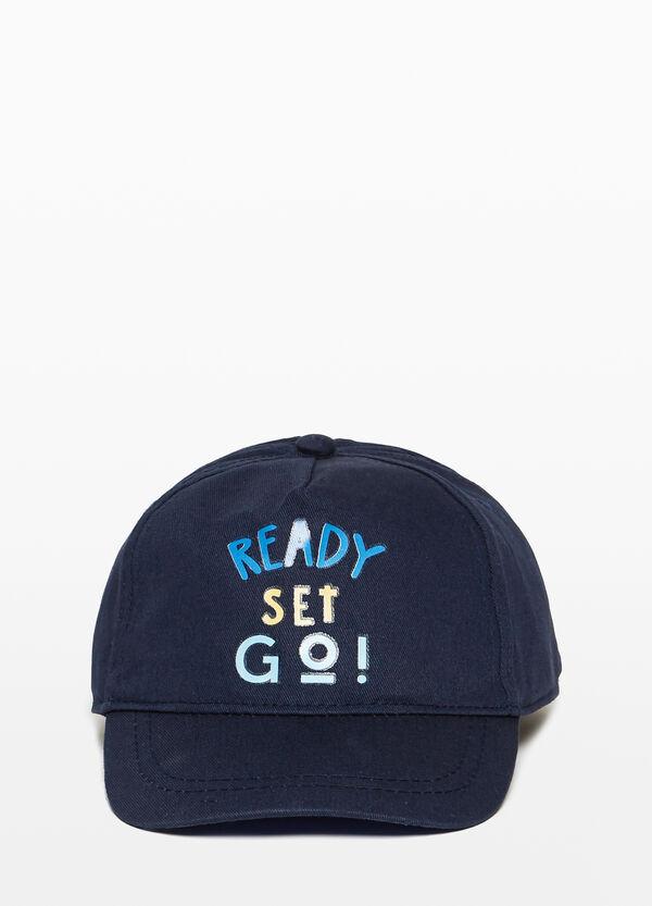 Baseball-Cap Buchstabenaufdruck