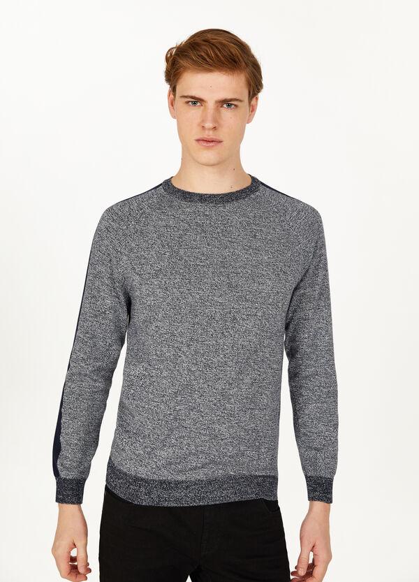 Pullover reine Baumwolle mit Streifen