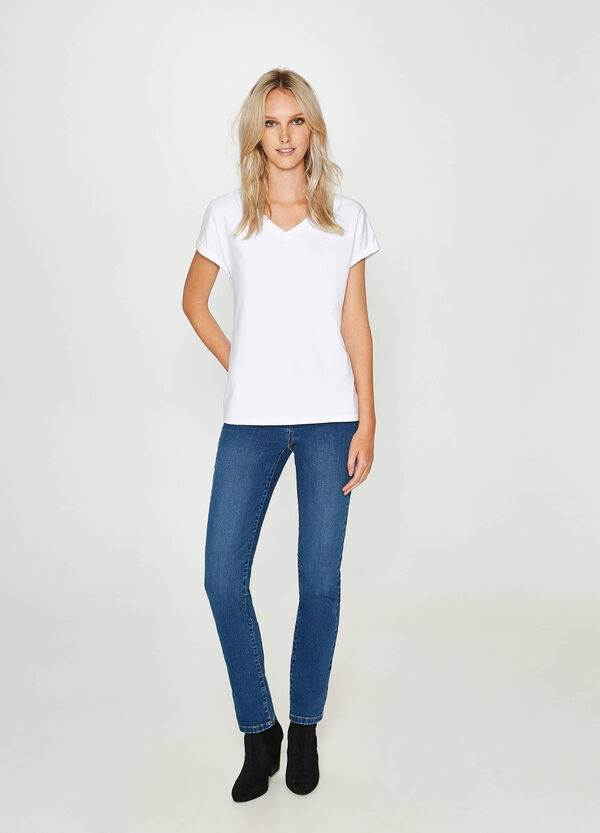 Stretch-Jeans Regular Fit mit Washed-out-Effekt | OVS