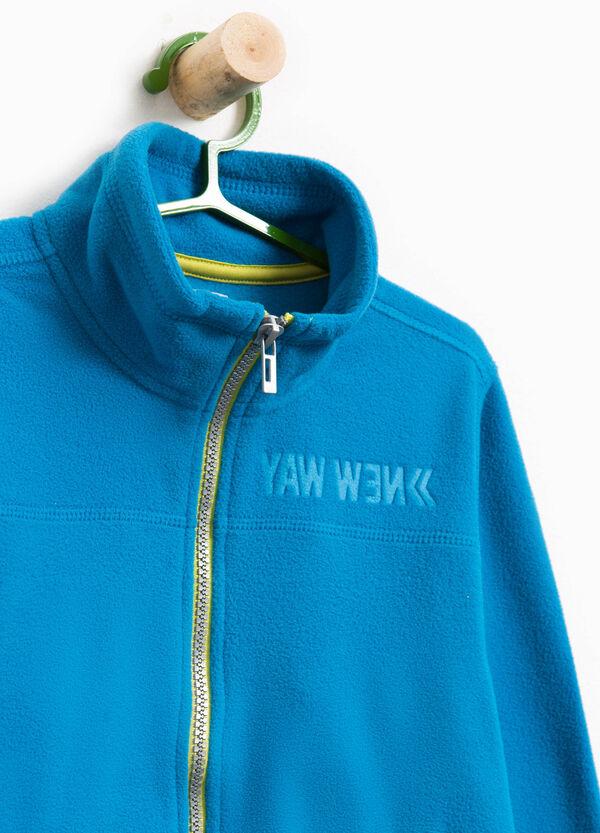 Sweatshirt Stehkragen und Lettering-Prägung | OVS