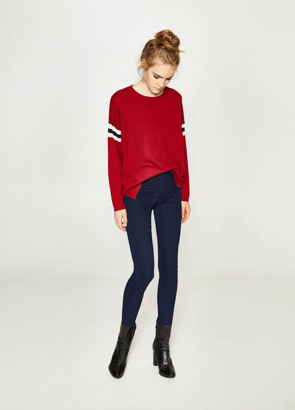 Einfarbige Jeans Super Skinny Fit. | OVS
