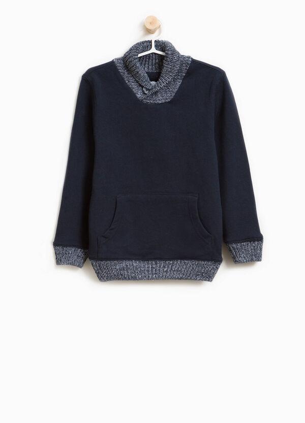Pullover reine Baumwolle Trikot Rollkragen | OVS