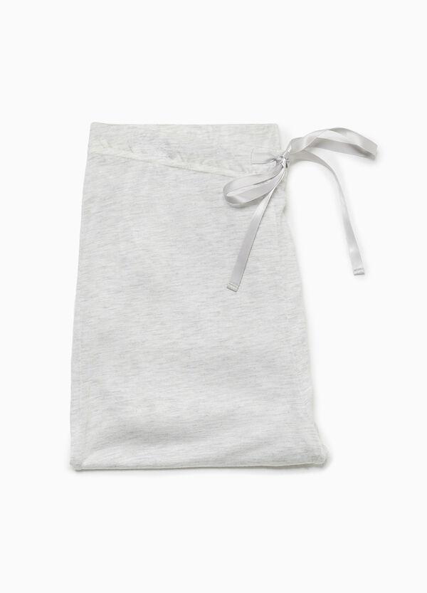 Pyjama-Hose aus Viskose mit Spitze