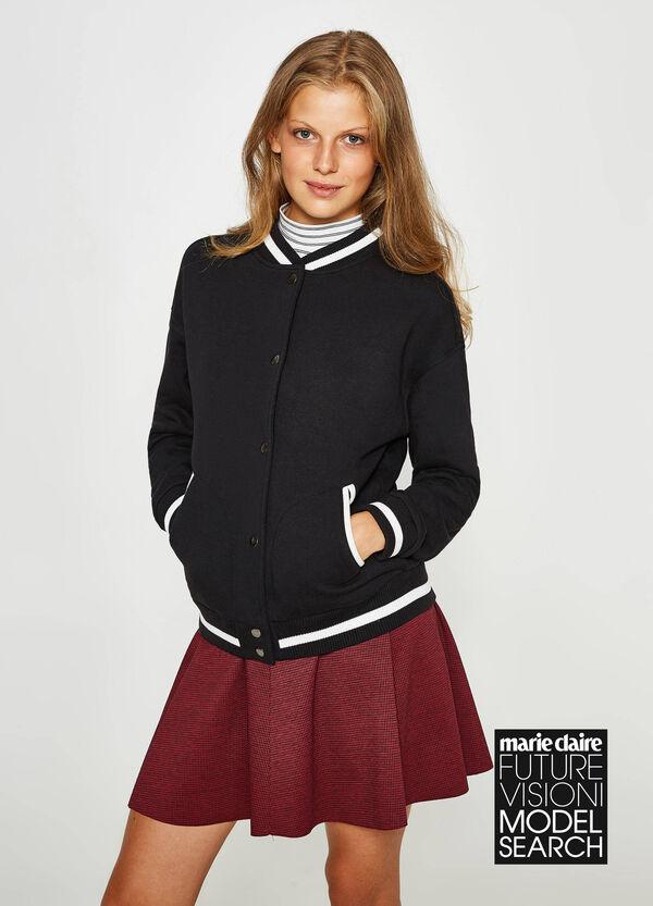 Sweatshirt Baumwollstretch Aufdruck Lettering | OVS