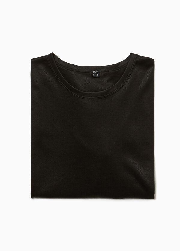 Stretch-Kleid mit Nieten Smart Basic