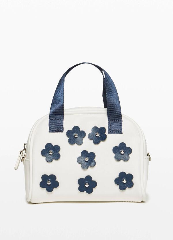 Handtasche mit Blumen-Patch