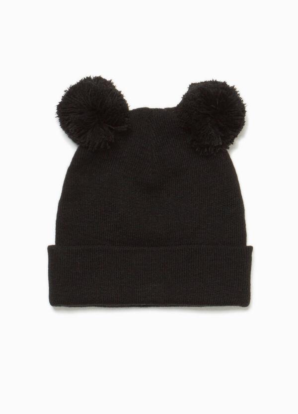 Mütze Ohren mit Bommel | OVS