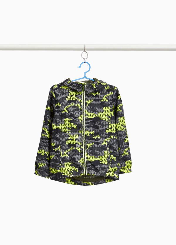 Regen-Blouson Camouflage