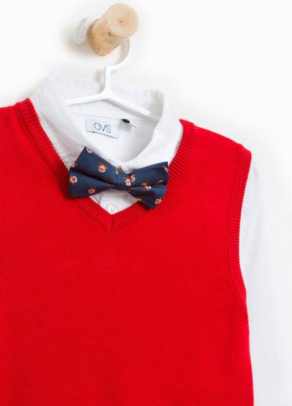 Garnitur Hemd und Weste mit Fliege | OVS