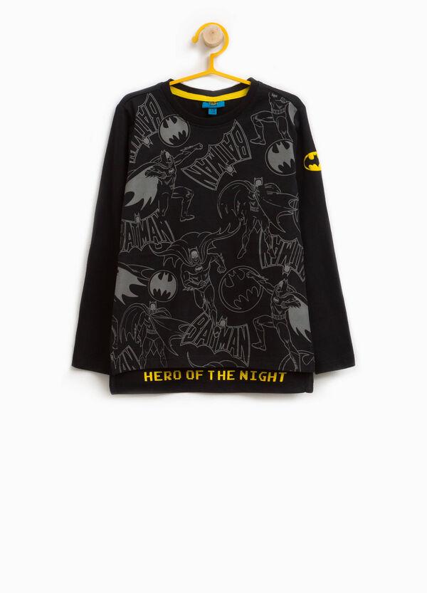 T-Shirt aus reiner Baumwolle Aufdruck Batman | OVS