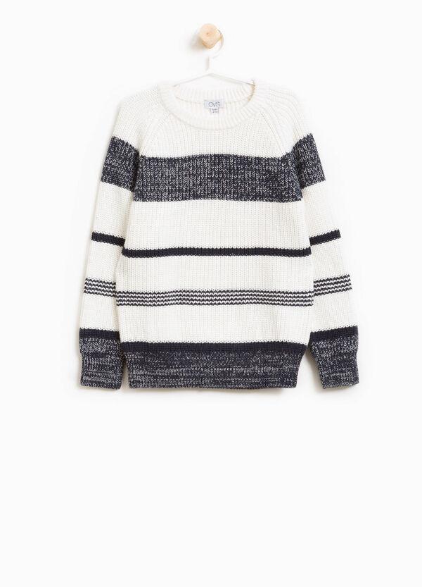 Pullover reine Baumwolle gestreift | OVS