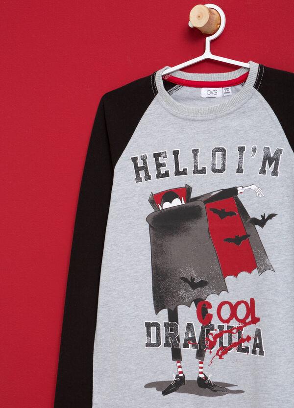 T-Shirt reine Baumwolle bedruckt | OVS