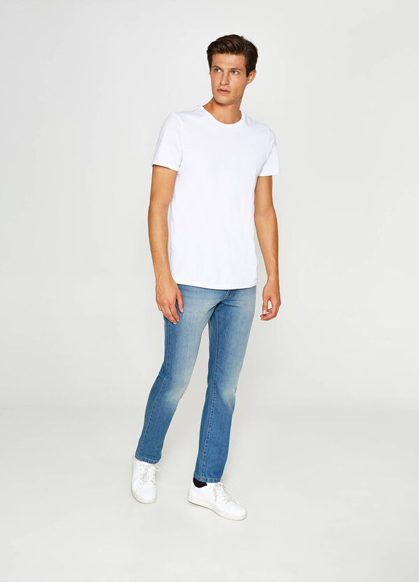 Jeans Regular Fit mit Used-Effekt | OVS