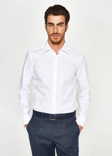 Formales Hemd Slim Fit aus Baumwolle