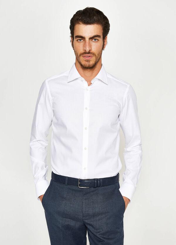 Formales Hemd Slim Fit aus Baumwolle | OVS