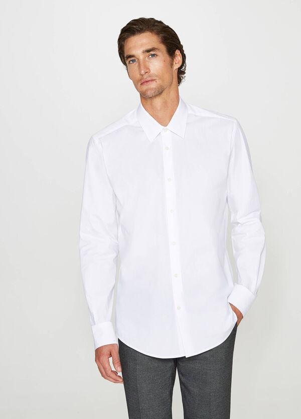 Formales Hemd Slim Fit Baumwollstretch | OVS