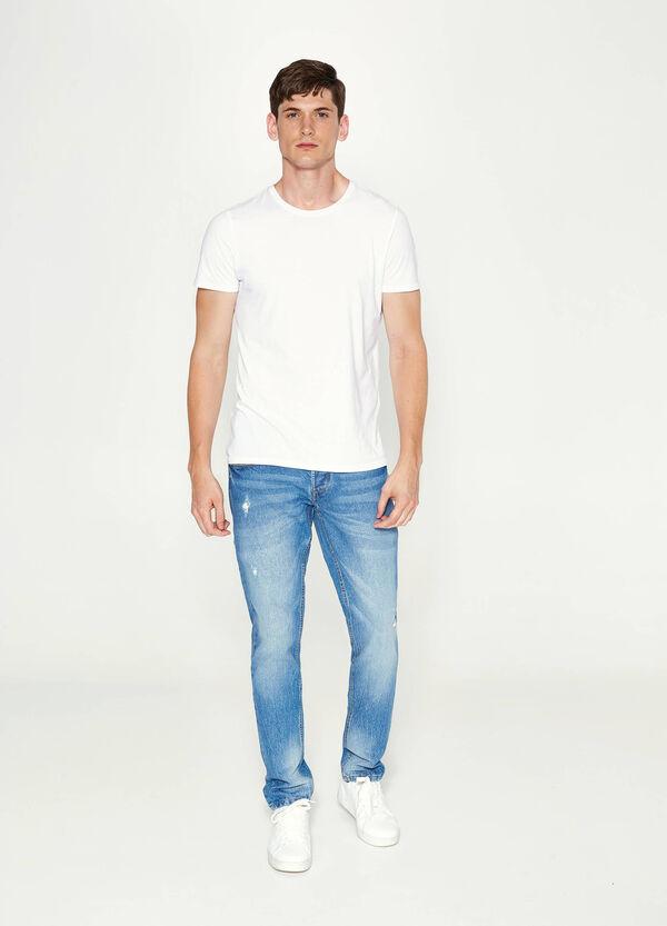 Jeans Slim Fit Used-Effekt | OVS