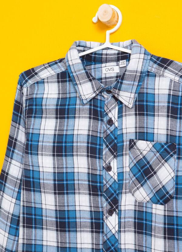 Flanellhemd mit Tasche Karo | OVS