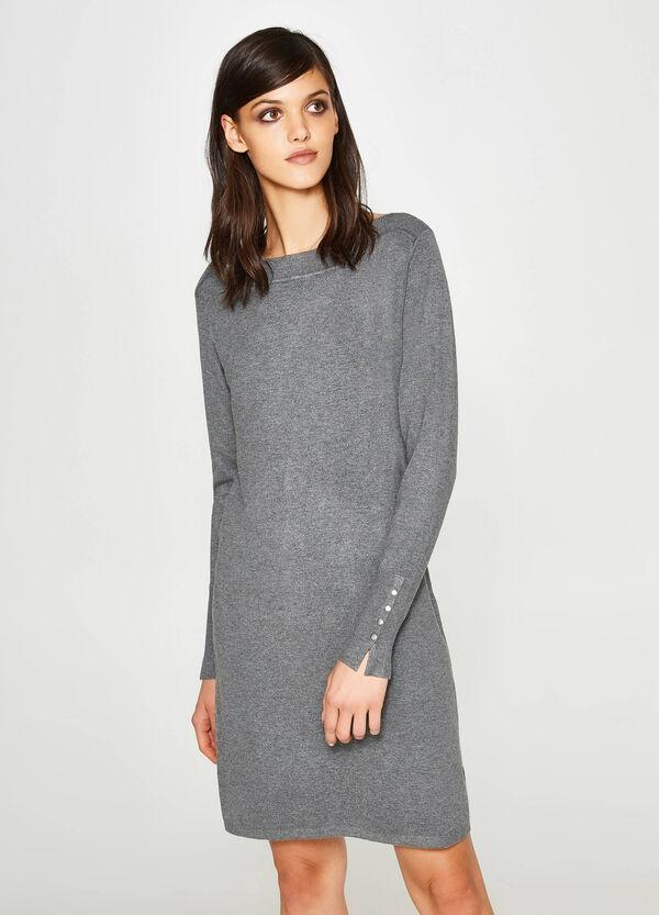 Kleid aus Viskosestretch Trikot-Verarbeitung | OVS
