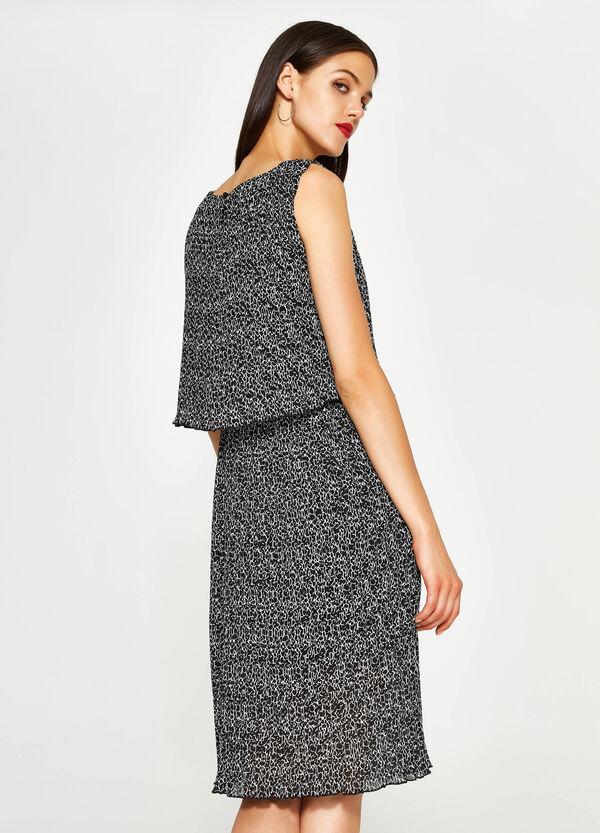 Ärmelloses bedrucktes Kleid | OVS