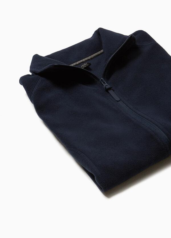 Weste aus Fleece Stehkragen Smart Basic