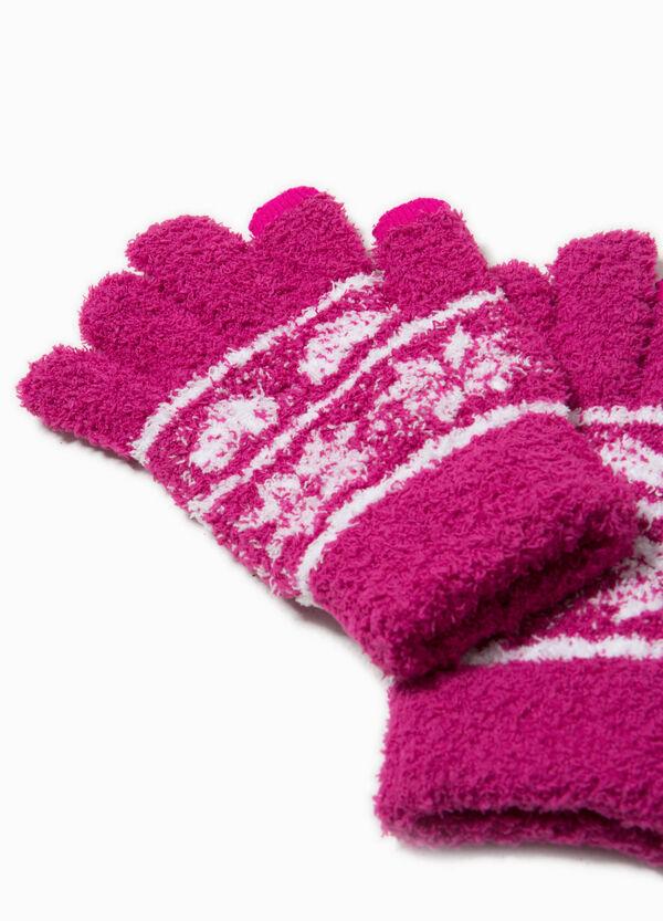 Stretch-Handschuhe bestickt | OVS