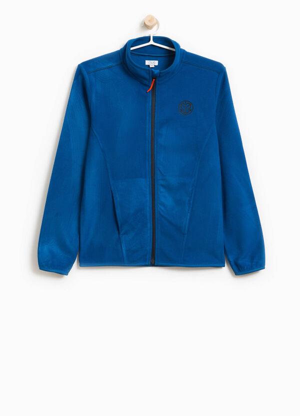 Sweatshirt aus Fleece mit Aufdruck | OVS