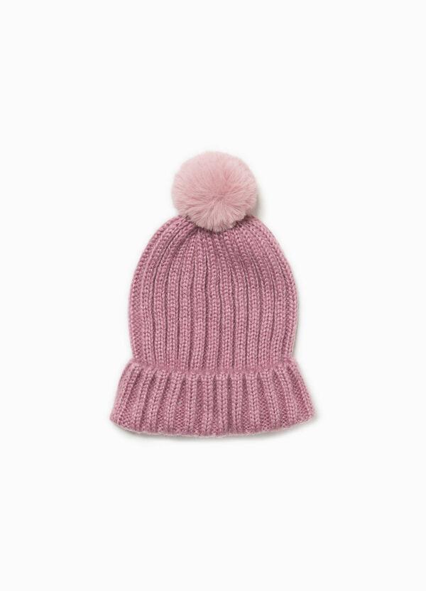 Mütze mit Lurex und Bommel | OVS