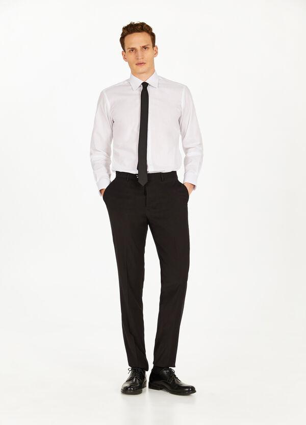 Elegante Hose Regular Fit Stretch-Qualität