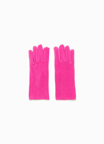 Einfarbige Handschuhe