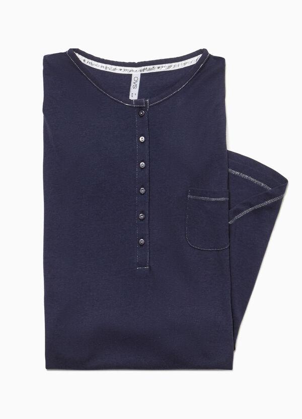Nachthemd mit Tasche