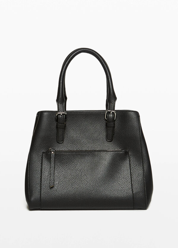 Handtasche mit Schnallen