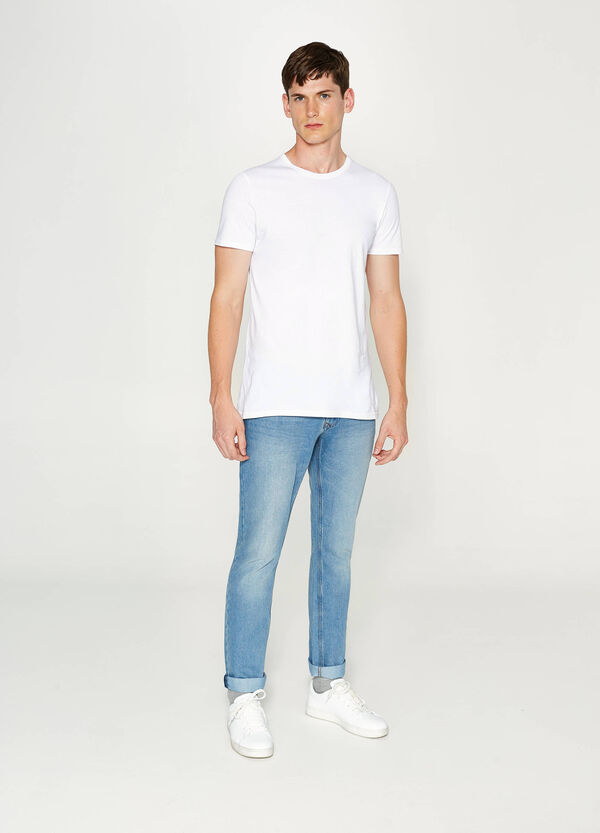 Jeans Slim Fit mit Washed out-Effekt | OVS