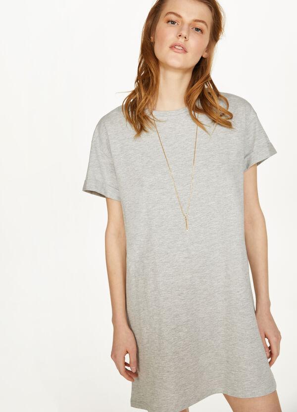 Kleid reine Baumwolle Kurzarm