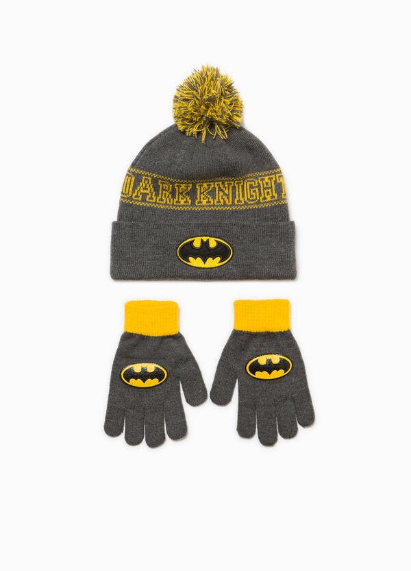 Garnitur Mütze und Handschuhe Batman | OVS