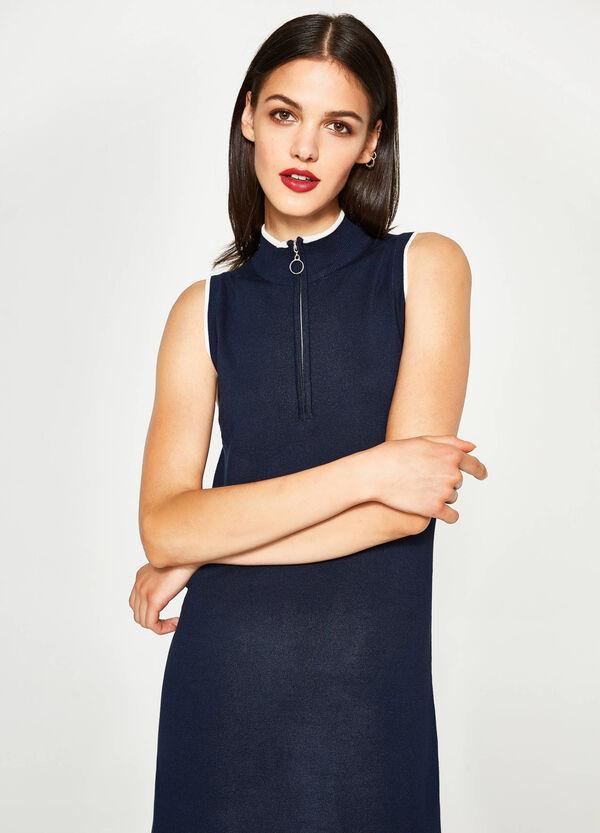 Kleid ärmellos aus Viskose | OVS