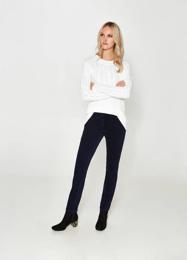 Hose aus Baumwollstretch | OVS