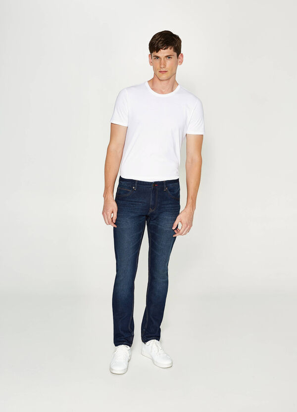 Jeans Slim Fit mit Whiskering | OVS