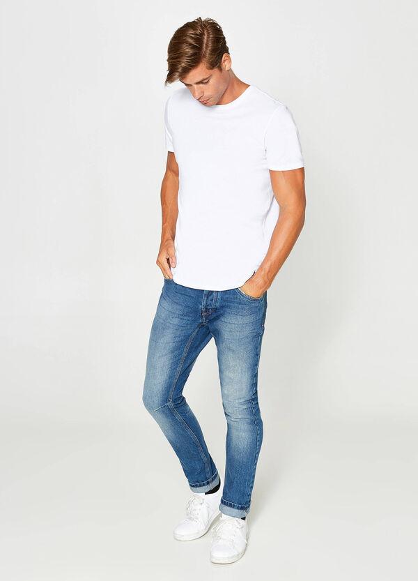 Jeans Loose Fit Washed-out-Effekt mit entfärbter Optik | OVS