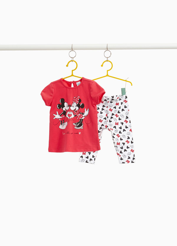 Garnitur Minnie und Mickey Mouse