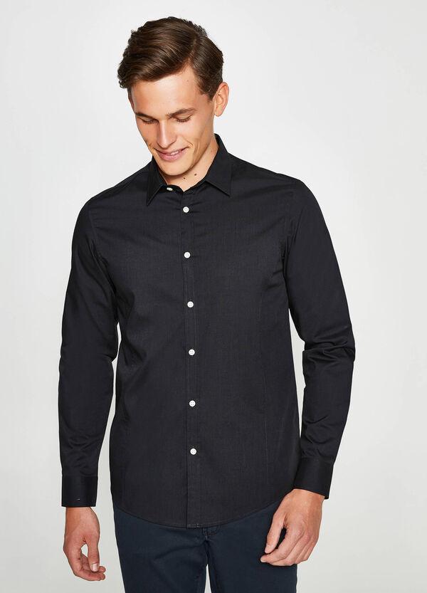 Lässiges Hemd Slim Fit aus Baumwoll-Mix | OVS