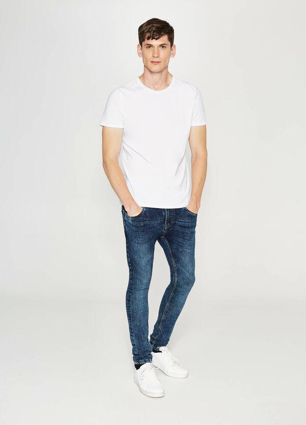 Stretch-Jeans Super Skinny Fit Washed-out-Effekt | OVS