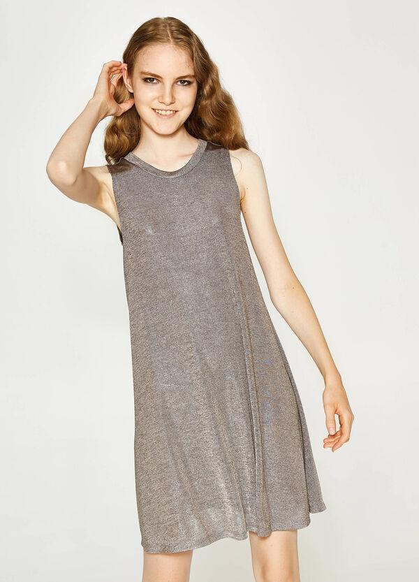 Ärmelloses Stretch-Kleid mit Falten | OVS
