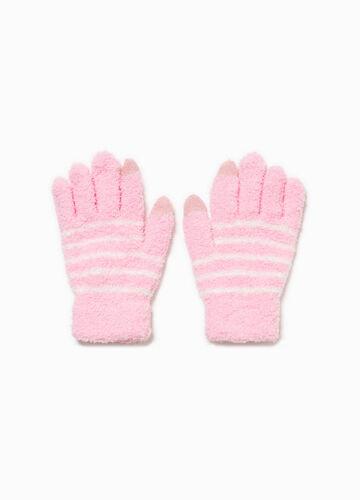 Stretch-Handschuhe gestreift