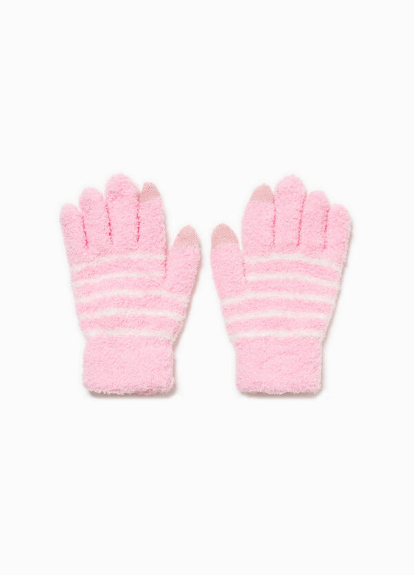 Stretch-Handschuhe gestreift | OVS