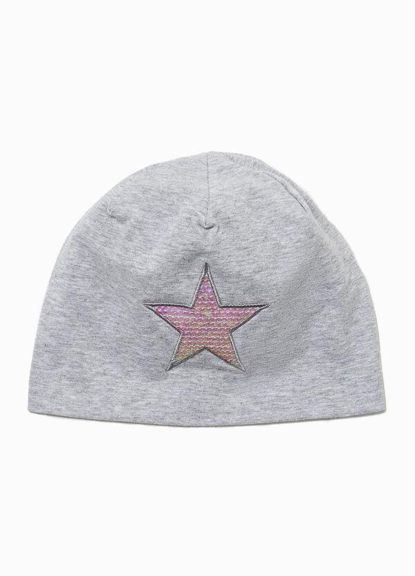 Mütze mit Stern-Patch